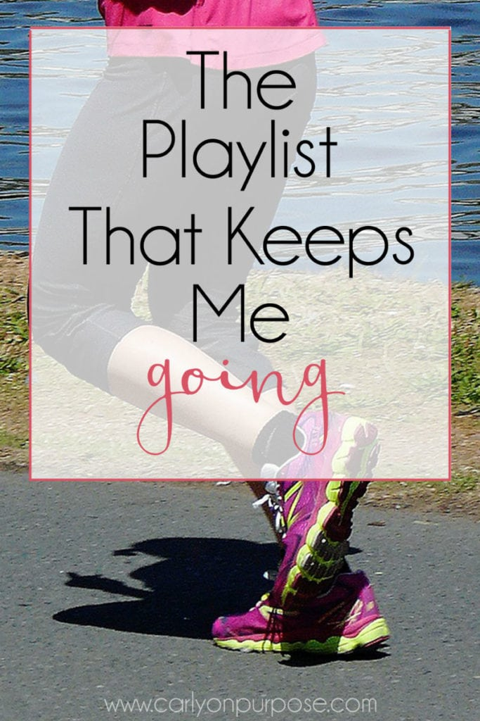 the playlist that keeps me going