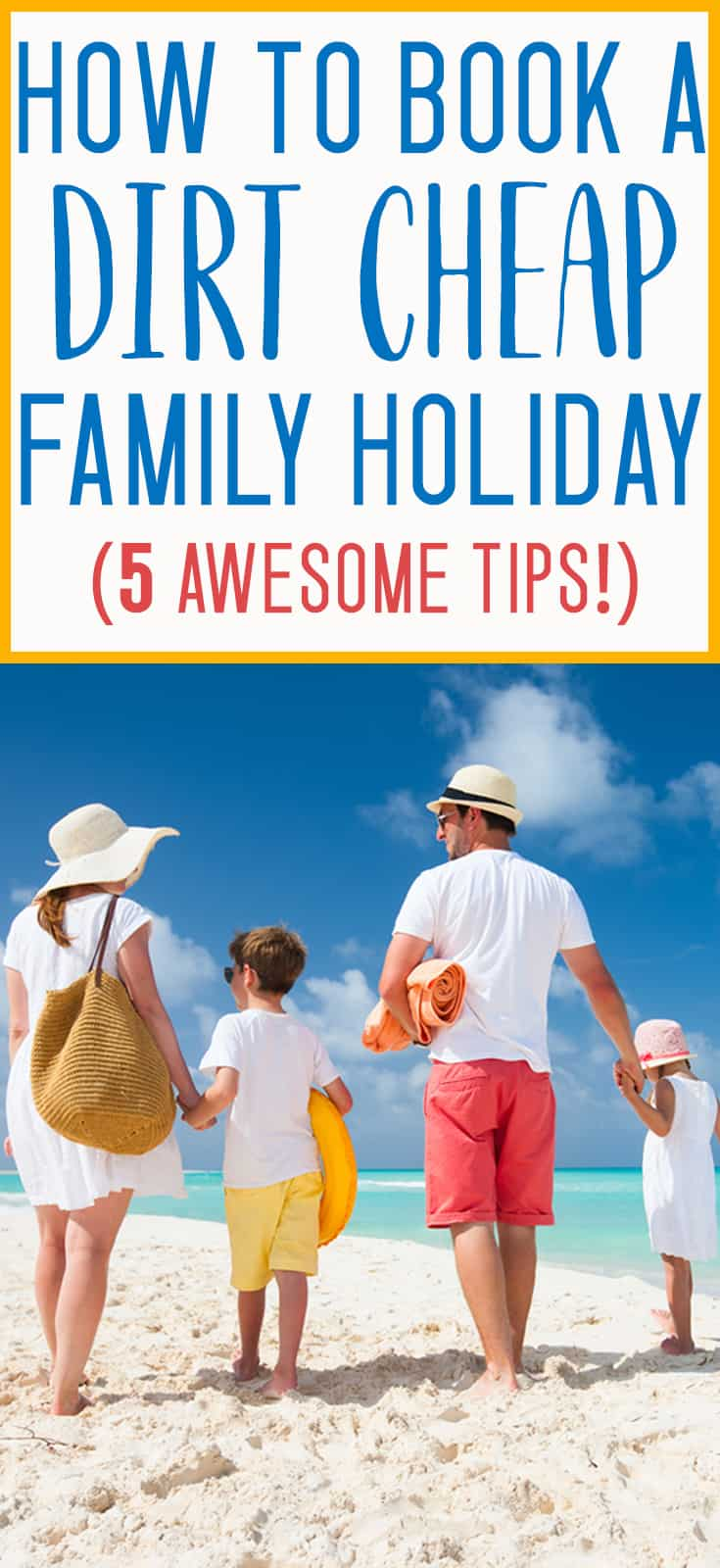 GREAT tips for booking a budget family vacation! Holidays don't have to break the bank - we used these tips to go to hawaii for less than $1500 each!
