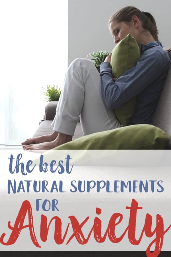 best natural supplements for anxiety relief