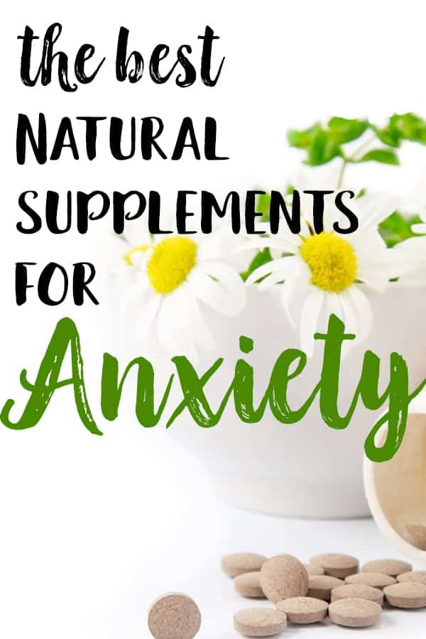best natural supplements for anxiety