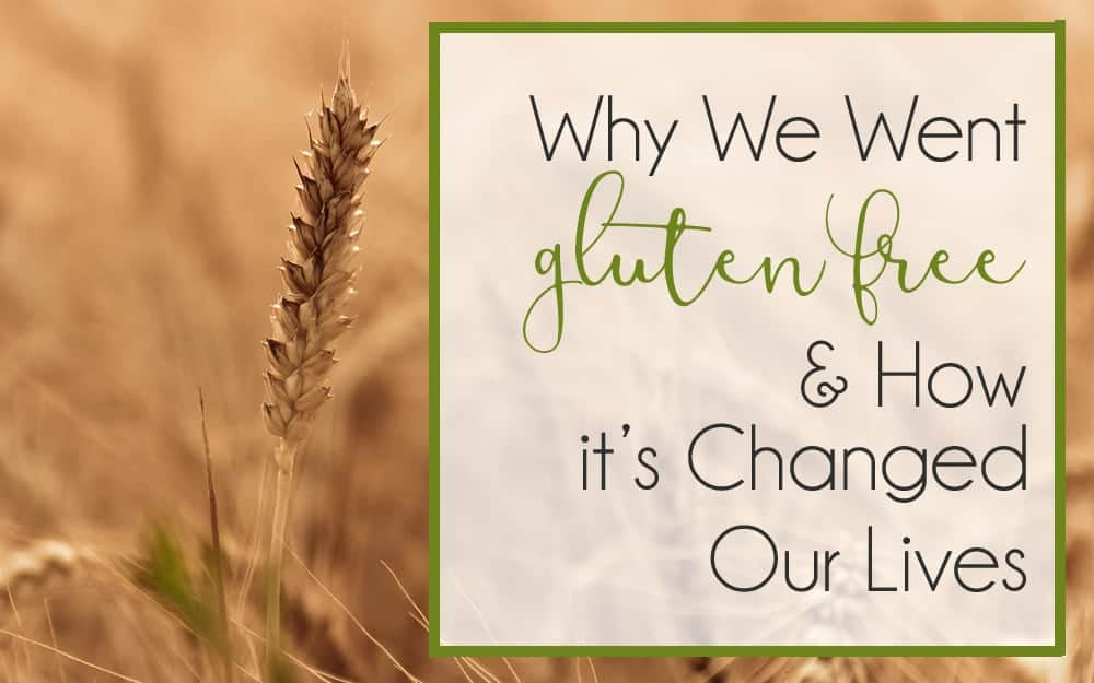 Why We Went Grain Free / Gluten Free