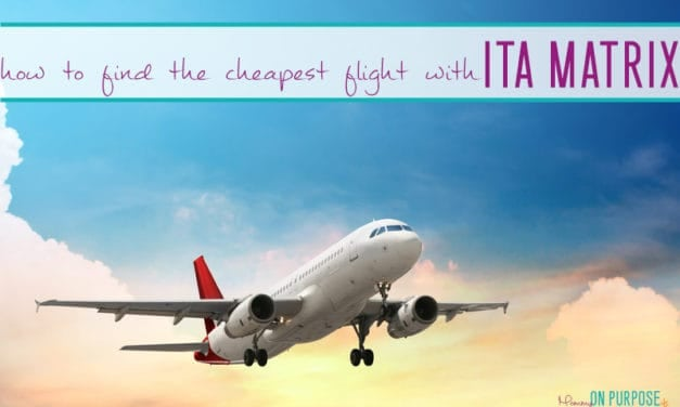 ITA Matrix: How to Find the Cheapest Flight Possible