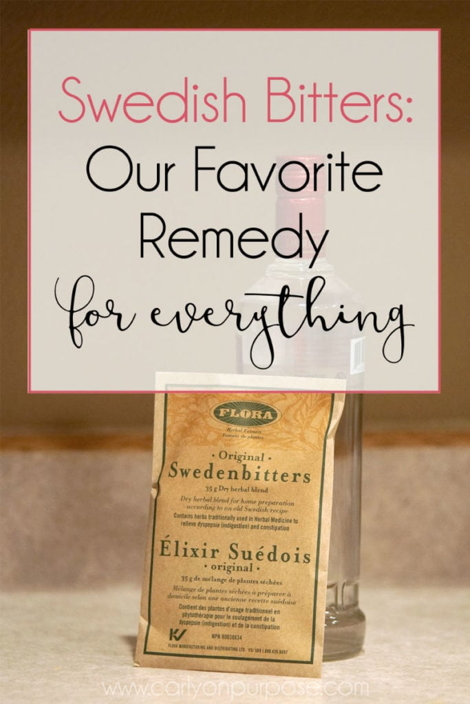 Swedish Bitters: our favorite remedy for everything