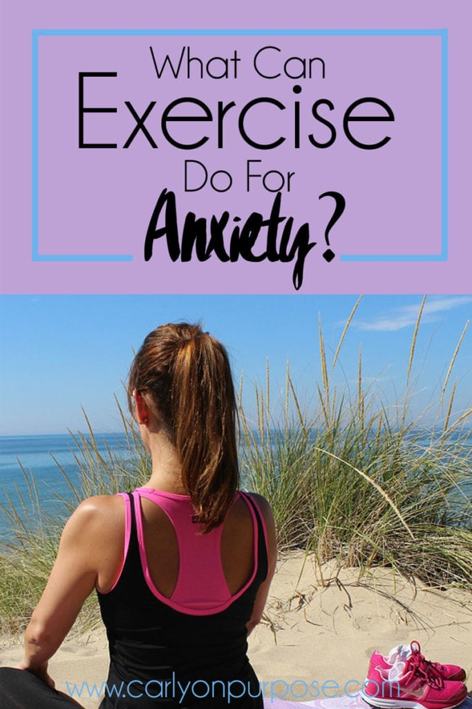 What can exercise do for anxiety?