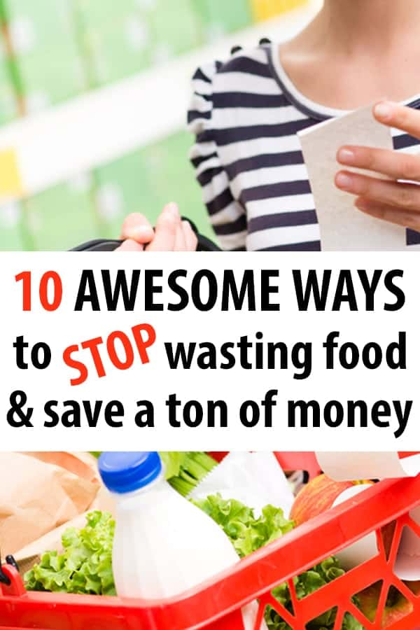 Stop Wasting Food – and SAVE MONEY!