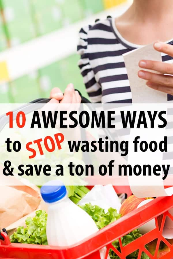 Frugal living tip: STOP WASTING FOOD to save money!