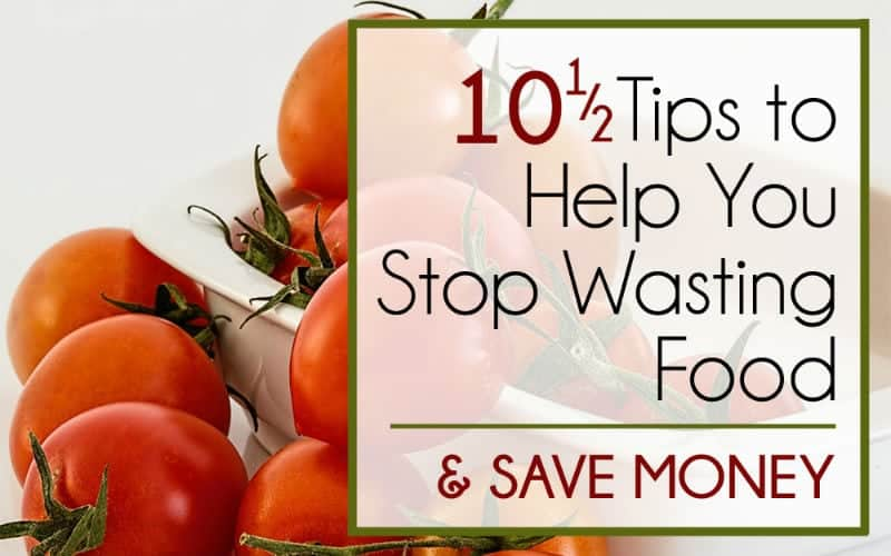 10 1/2 Tips to Help You Stop Wasting Food