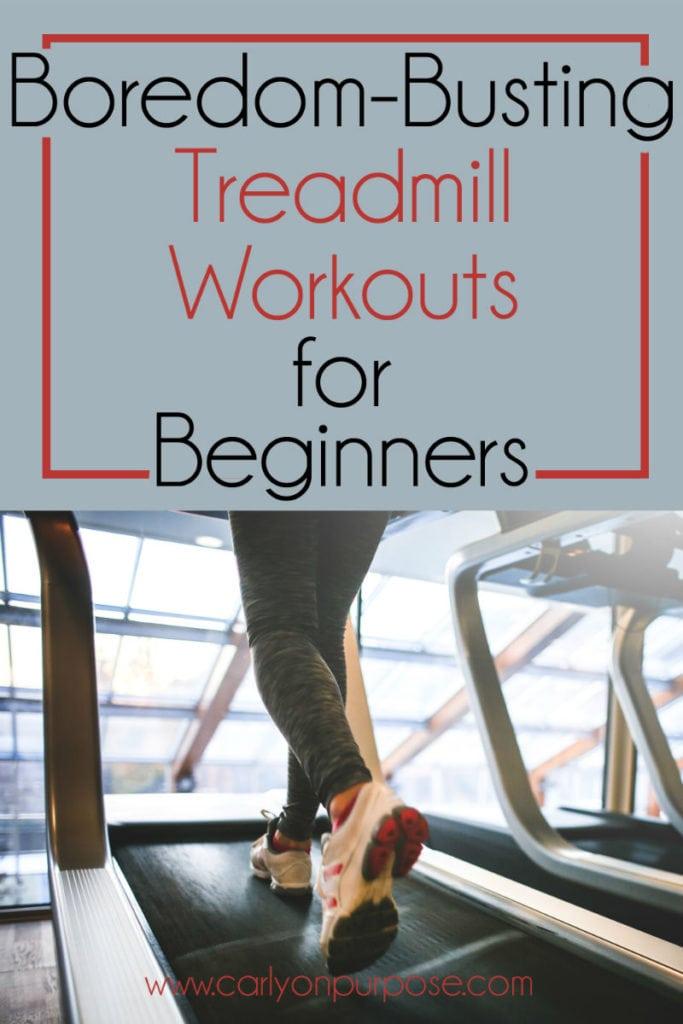 beginner treadmill workouts