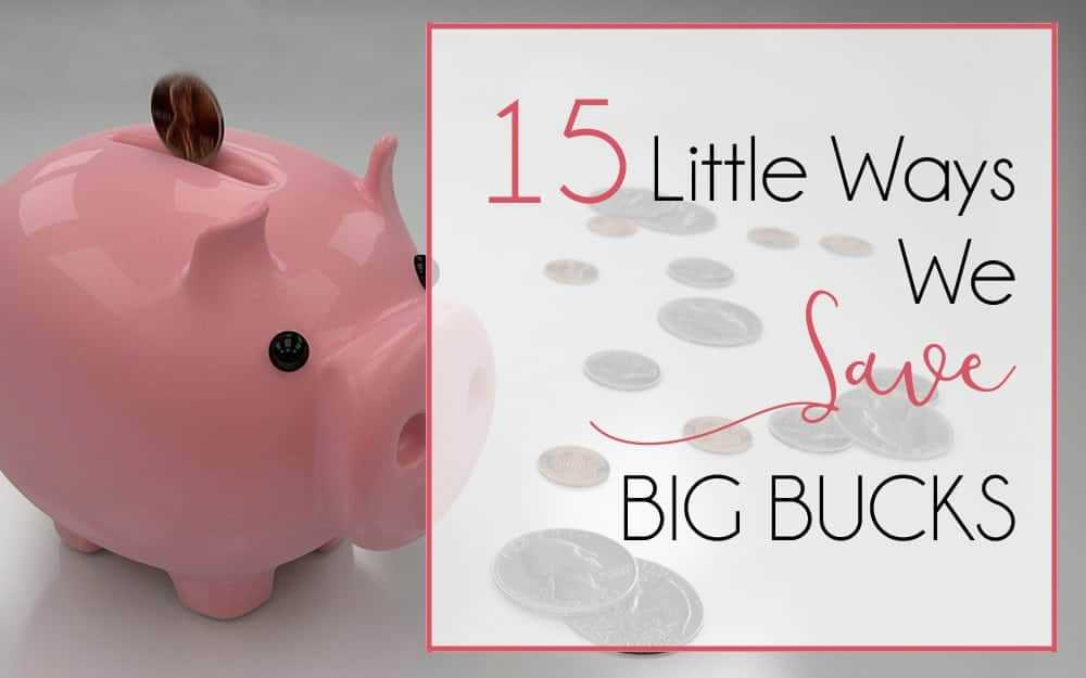 15 Simple Ways to Spend Less Money