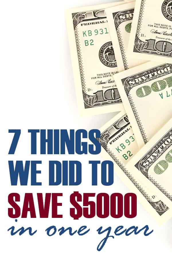 saving money tips and ideas