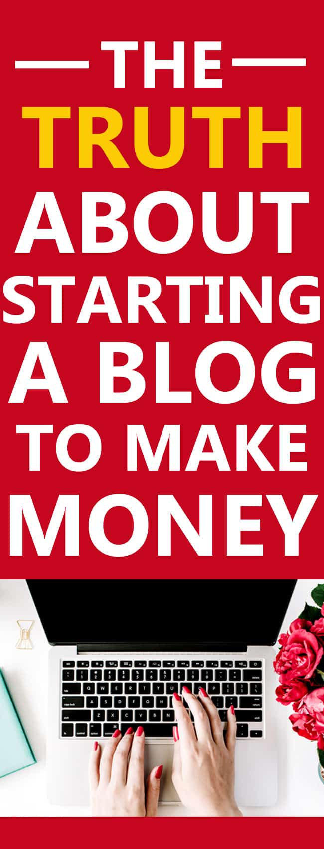 Starting a blog to make money? There is something you HAVE TO KNOW first - something that no one tells you!