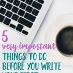 beginner blogging tips