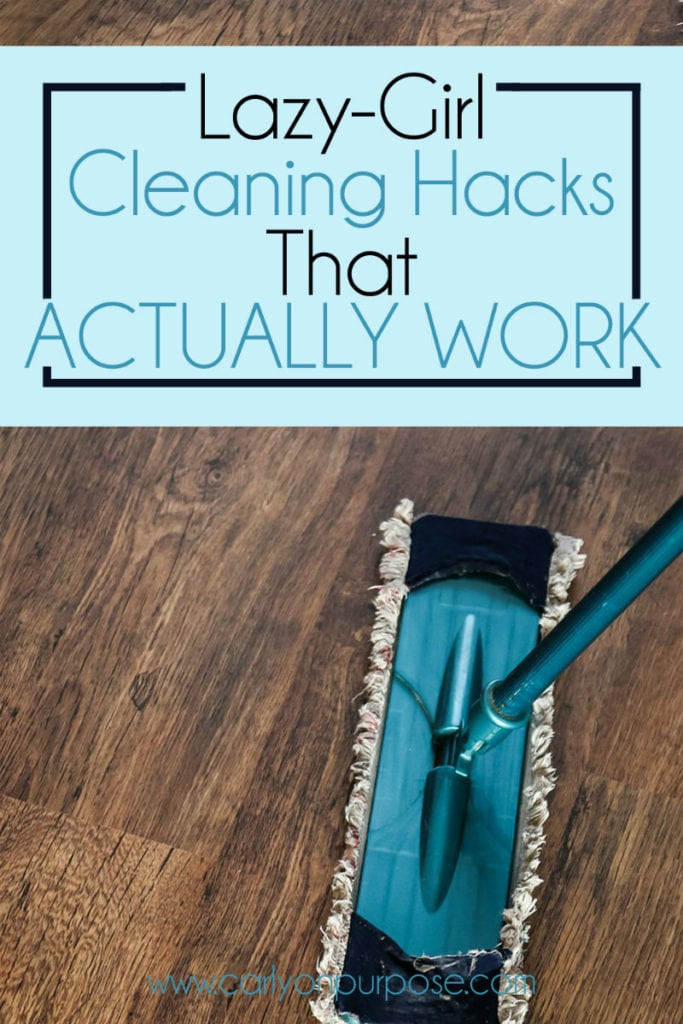 Cleaning hacks that actually work