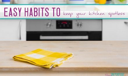 Habits to Keep Your Kitchen Spotless