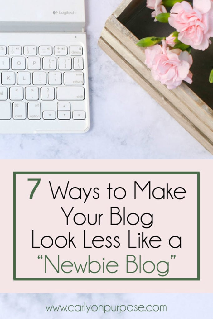 7 ways to look less like a newbie blogger