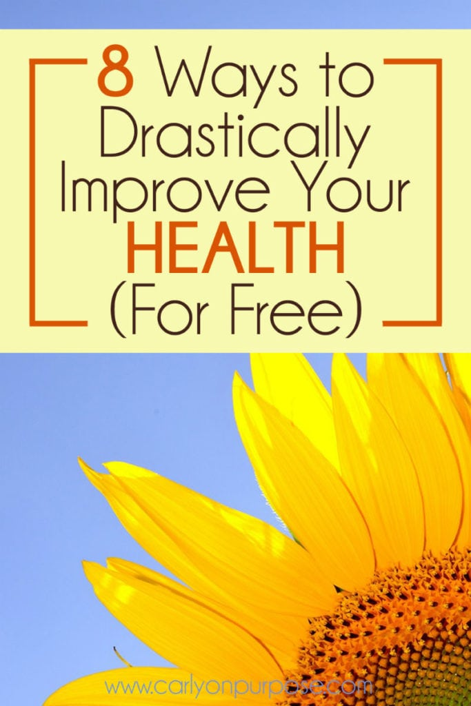 improve your health for free