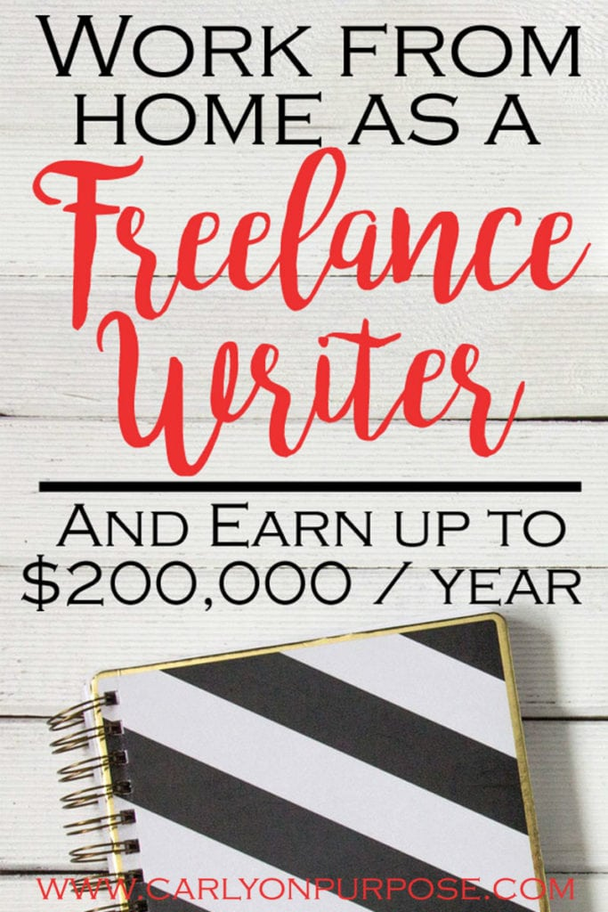 how to become a freelance writer and work from home