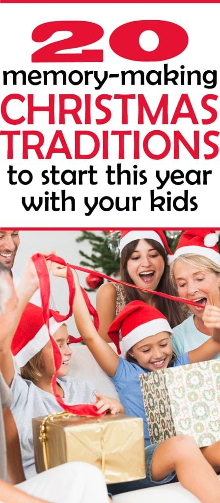 AWESOME christmas tradition ideas for families