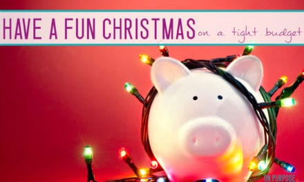 How to Have a Fun Frugal Christmas