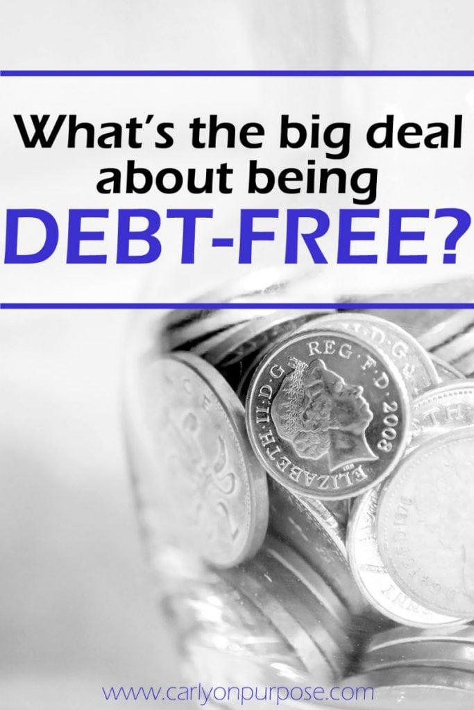 being debt free