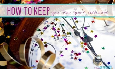 How to ACTUALLY keep your New Year's Resolution this year