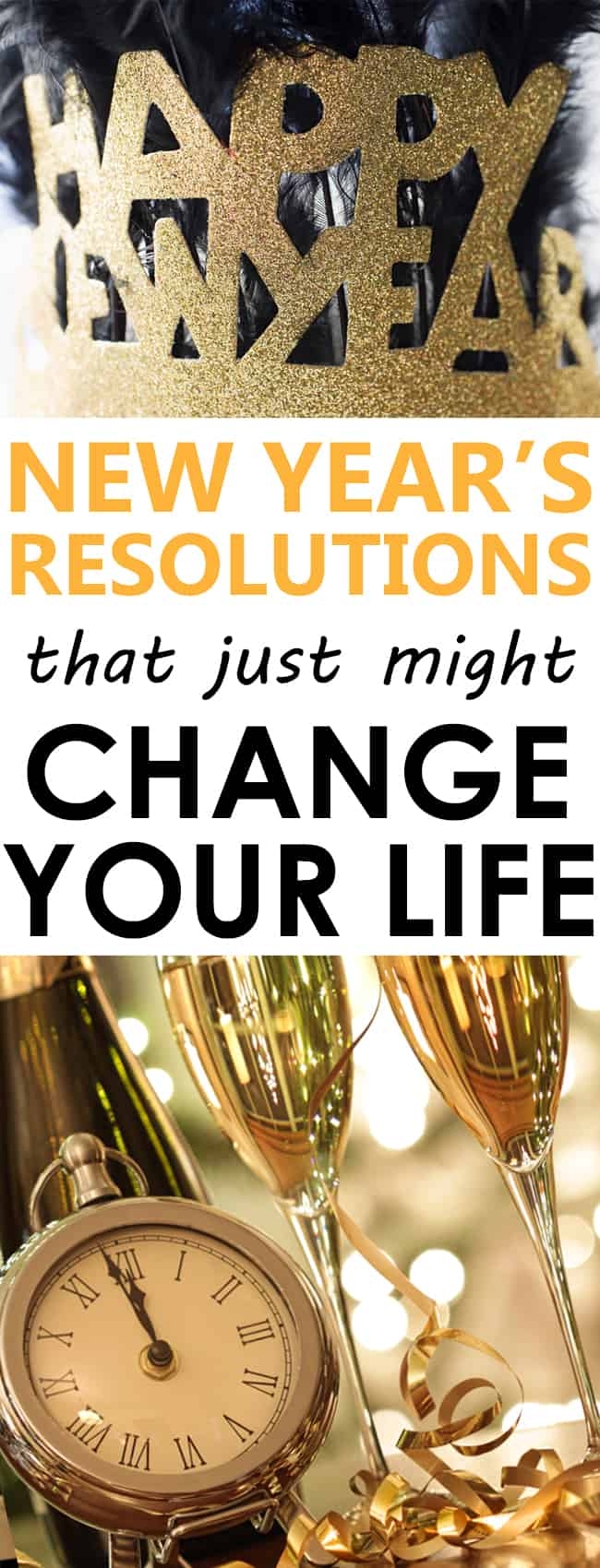 new years resolution ideas that just might change your life for good!