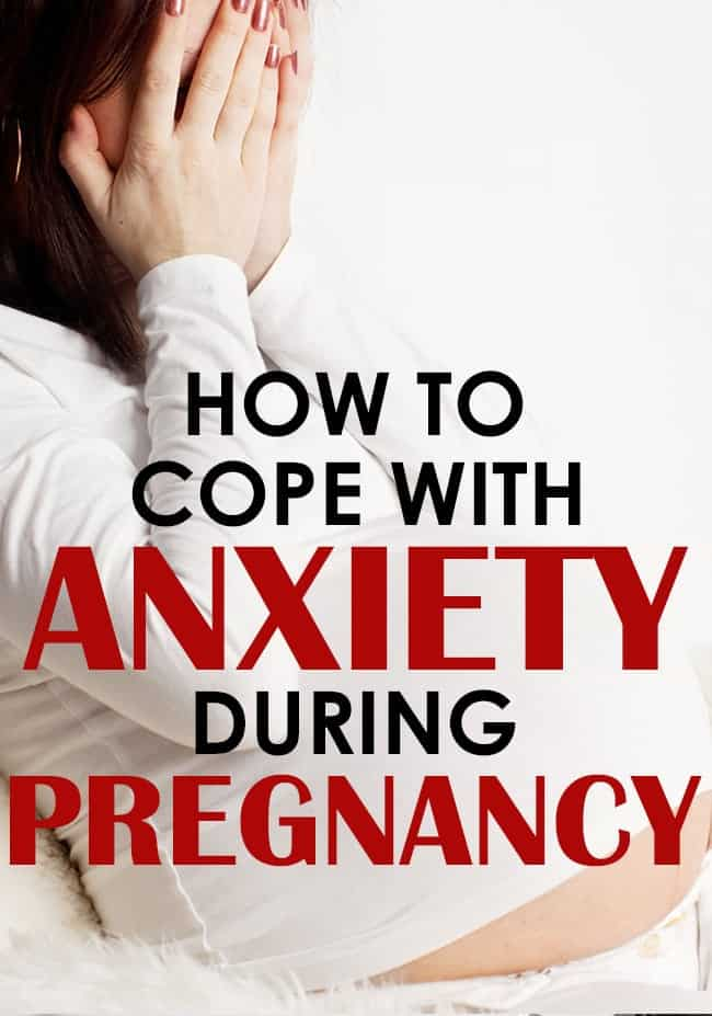 Anxiety in pregnancy