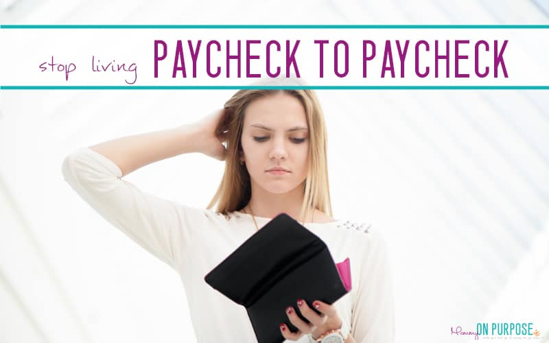 How to STOP living paycheck to paycheck: 10 Steps to Financial Freedom