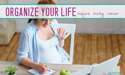 5 Easy Organizational Systems You NEED to Implement When Preparing for a Baby