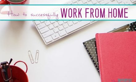 4 Secrets of People Who Successfully Work From Home