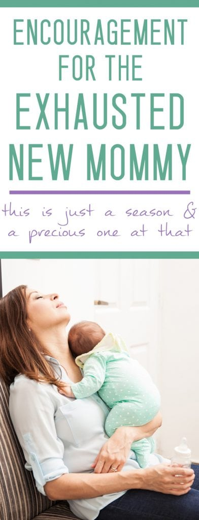 are you an exhausted mom? I've been there!