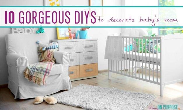 10 Gorgeous DIYs to Decorate Baby's Room