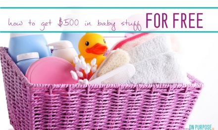 Over 500$ in FREE STUFF for New Baby (and Their Mommas!)!
