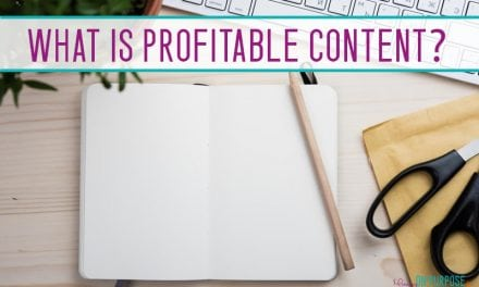 What is Profitable Content?