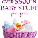 DON'T MISS OUT ON THESE BABY FREEBIES FOR NEW MOMS!