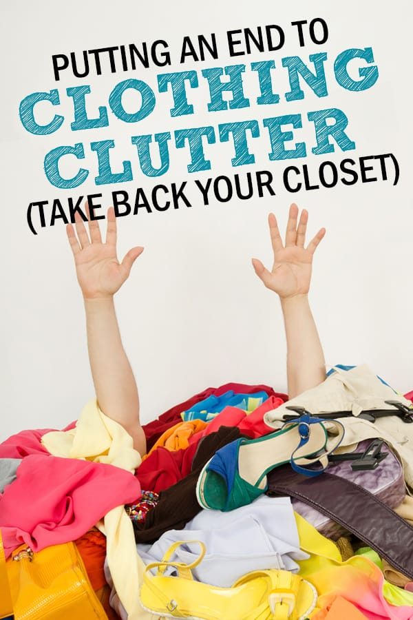 closet organization and clothing clutter solutions