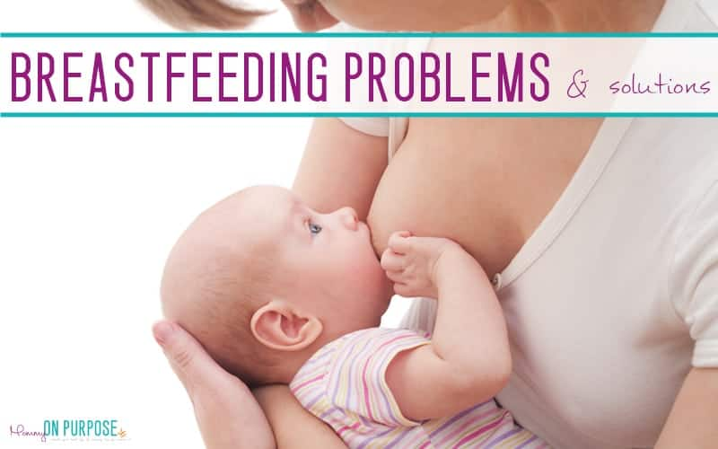 9 Common Breastfeeding Problems (& How to Fix Them)