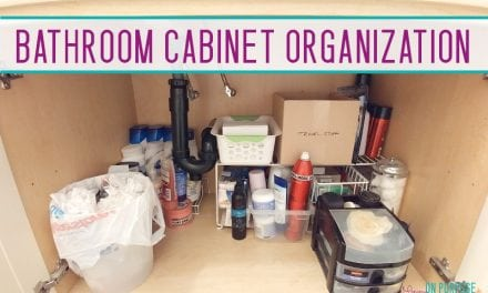 Organizing the Bathroom Cupboard: Facing the Truth Under the Sink