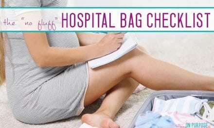 Things You ACTUALLY NEED in Your Hospital Bag