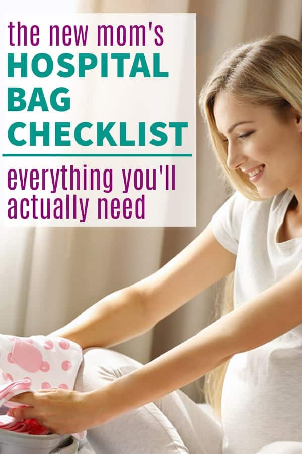 hospital bag checklist for labor