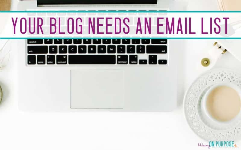 My Biggest Blogging Mistake: Not Growing an Email List