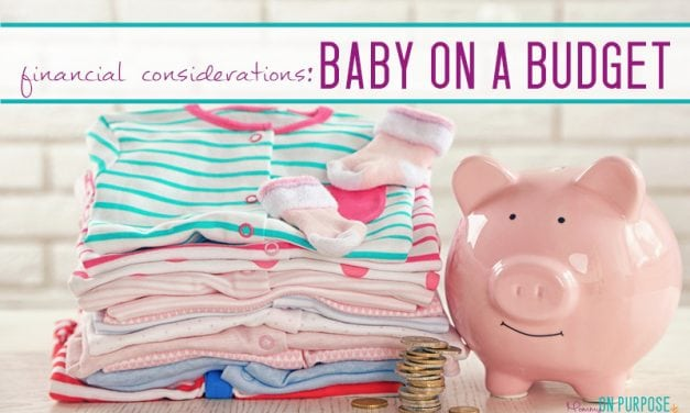 Having a Baby on a Budget (don't go broke!)