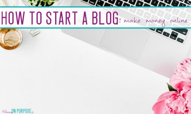 How to start a blog and make money from home; A FREE step by step Course for Establishing Profitable Blog Foundations