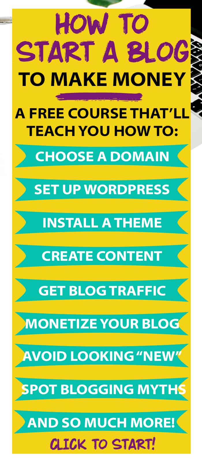 How To Start A Blog And Make Money From Home A Free Step