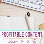 HOW TO WRITE PROFITABLE CONTENT
