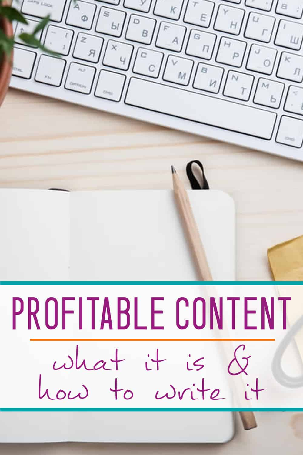 trying to make money blogging? You NEED to be writing profitable content!