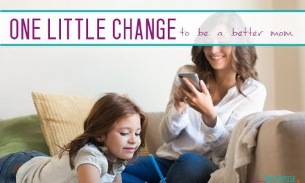 How to be a Better Parent (and Have a Cleaner House too!)