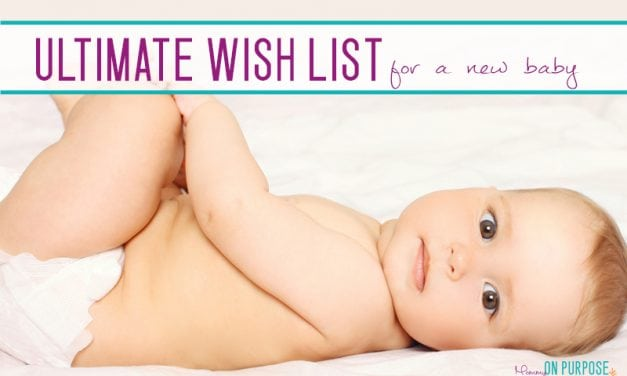 Ultimate Wishlist for A Newborn: New Baby Necessities