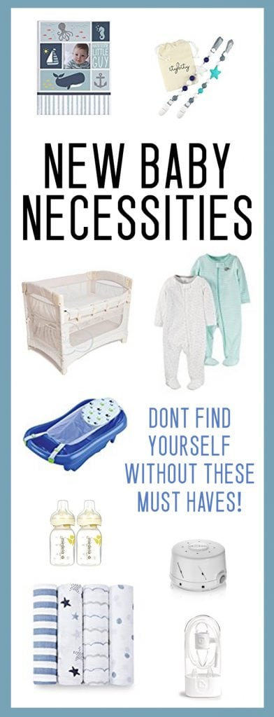 NEW BABY NECESSITIES / baby shower gift ideas