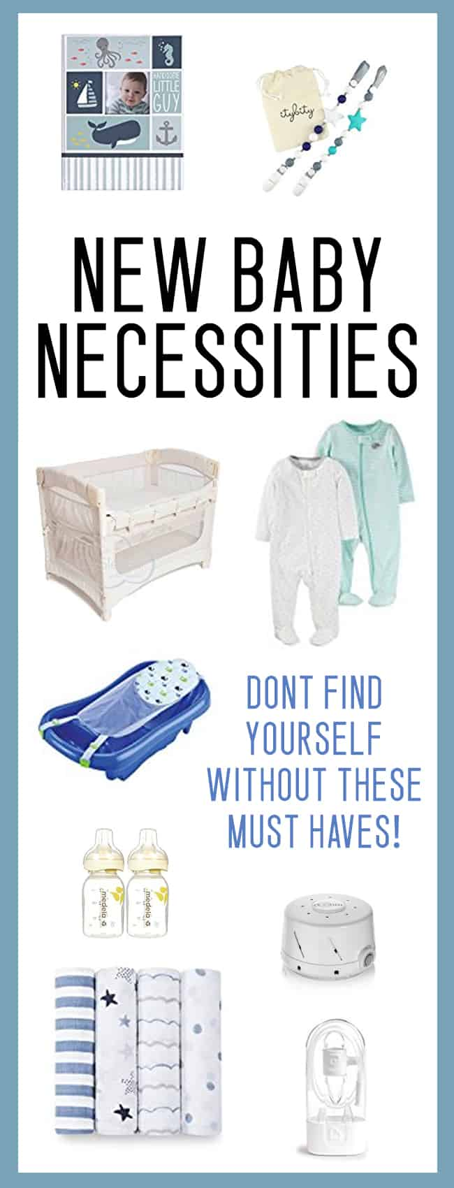 GREAT baby shower gift ideas / new baby necessities list!